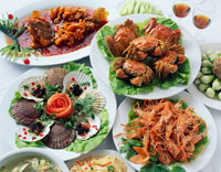 海鮮料理 25617000119| 写真素材・ストックフォト・画像・イラスト素材|アマナイメージズ