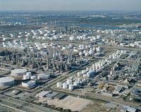 石油工業地帯