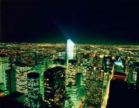 マンハッタンビル群夜景 25653002007| 写真素材・ストックフォト・画像・イラスト素材|アマナイメージズ