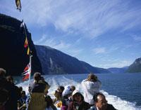ソグネフィヨルドの観光船
