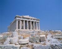 パルテノン神殿 アテネ 7月 ギリシヤ