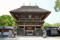 青井阿蘇神社(国宝)の楼門
