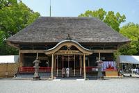 青井阿蘇神社(国宝)の拝殿