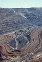 BHPビリトン社の鉄鋼山