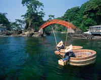 小木のたらい舟 矢島・経島