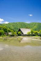 世界文化遺産 春の白川郷合掌造り集落