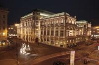 国立オペラ座の夜景 25739015248| 写真素材・ストックフォト・画像・イラスト素材|アマナイメージズ