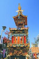 春の高山祭・屋台        25747020806| 写真素材・ストックフォト・画像・イラスト素材|アマナイメージズ