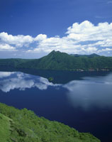 初夏の摩周湖