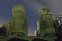 アポロン神殿内室とこと座