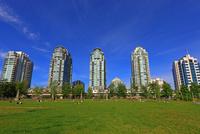 公園と超高層ビル