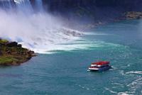 ホーンブロワー・ナイアガラ・クルーズとアメリカ滝