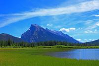 バーミリオンレイクとランドル山
