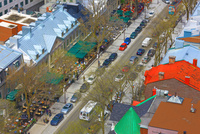 ケベック新市街のメインストリート 25801014582  写真素材・ストックフォト・画像・イラスト素材 アマナイメージズ
