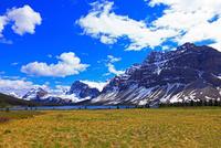 ボーレイクとトンプソン山 25801014898  写真素材・ストックフォト・画像・イラスト素材 アマナイメージズ