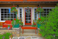 コテージの庭 25801014981| 写真素材・ストックフォト・画像・イラスト素材|アマナイメージズ