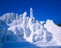 札幌雪まつり大通公園の大雪像