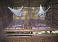ルングス族の寝室