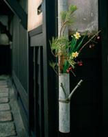 冬の飾り花 西陣