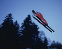 スキージャンプ 25814002766| 写真素材・ストックフォト・画像・イラスト素材|アマナイメージズ