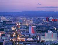 ラスベガス市街夜景