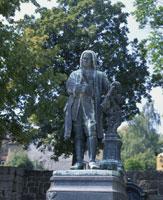 JSバッハの彫像