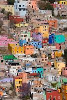 グアナフアトのカラフルな家並み 25826026249| 写真素材・ストックフォト・画像・イラスト素材|アマナイメージズ