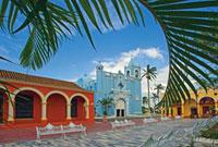 トラコタルパンの通りと街並み 25826026383| 写真素材・ストックフォト・画像・イラスト素材|アマナイメージズ