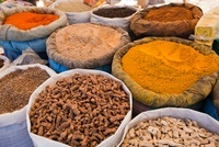 Tinghir City-Weekly Market-Spices