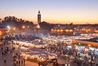 The Medina-Shop-Djemaa el-Fna Square-Koutobia Tower