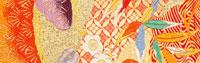 西陣織の帯地 25846003437| 写真素材・ストックフォト・画像・イラスト素材|アマナイメージズ