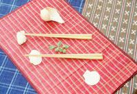 夏の箸置とランチョンマット