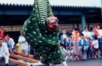 獅子舞 鴨川秋祭り 25890000806  写真素材・ストックフォト・画像・イラスト素材 アマナイメージズ