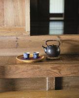 カマチのお茶セット 25890001402  写真素材・ストックフォト・画像・イラスト素材 アマナイメージズ