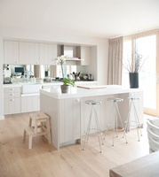 Neutral kitchen in The Lakes, UK.