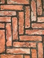 Full frame of brickwork