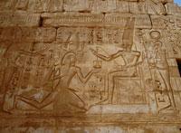 メディネト・ハブの壁画