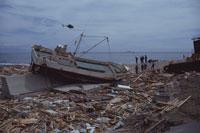 北海道南西沖地震奥尻島 25947022363| 写真素材・ストックフォト・画像・イラスト素材|アマナイメージズ