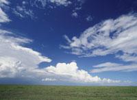サバンナと雲 セレンゲティ国立公園
