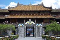 阮朝王宮の王宮門 25947043526| 写真素材・ストックフォト・画像・イラスト素材|アマナイメージズ