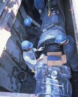 水道工事 本管の敷設