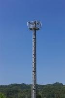 携帯電話の地上局アンテナ