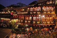 九フンの茶屋の夜景