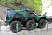 香港海防博物館の装甲兵員輸送車