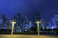 中山紀念公園の夜景