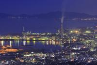 具定展望台から四国中央市の夜景