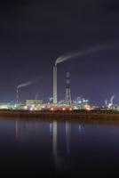 四国中央市の工場夜景