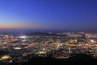 皿倉山から北九州の夜景