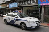 上海のパトカー 25977009203| 写真素材・ストックフォト・画像・イラスト素材|アマナイメージズ