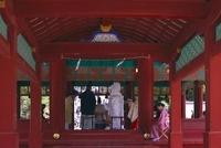 舞殿の結婚式